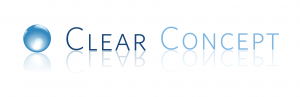 Clear Concept Logo on (White) 2019.11.06